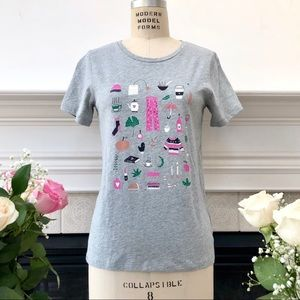 ❤️ J. CREW ❤️ New Collector Tee